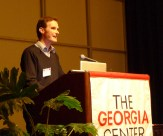 Speaking at the Georgia Conference on Children's Literature