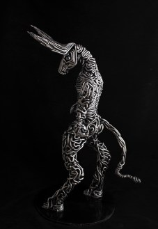 metal art - handmade sculptures - steel minotaur sculpture - mccallister sculpture - scottsdale art