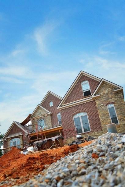 Custom Home Being Built Farragut