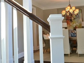 Knoxville Knoxville Custom Home Railing