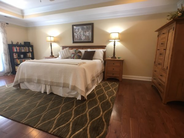 Sequoyah Gardens Custom Master Bedroom