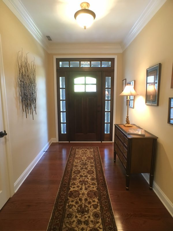 Sequoyah Hills Custom Entry
