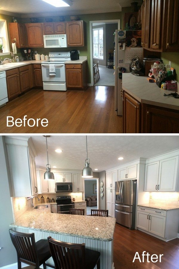 Lenoir City Kitchen Before / After