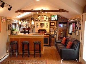 Backyard Pub Shed
