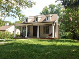 Sequoyah Hills custom home, ideal for any retiree.