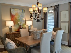Knoxville Custom Home Dining Room