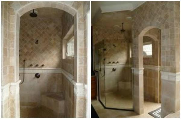 Custom Arch Shower