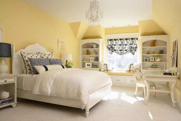 Pale Yellow Bedroom