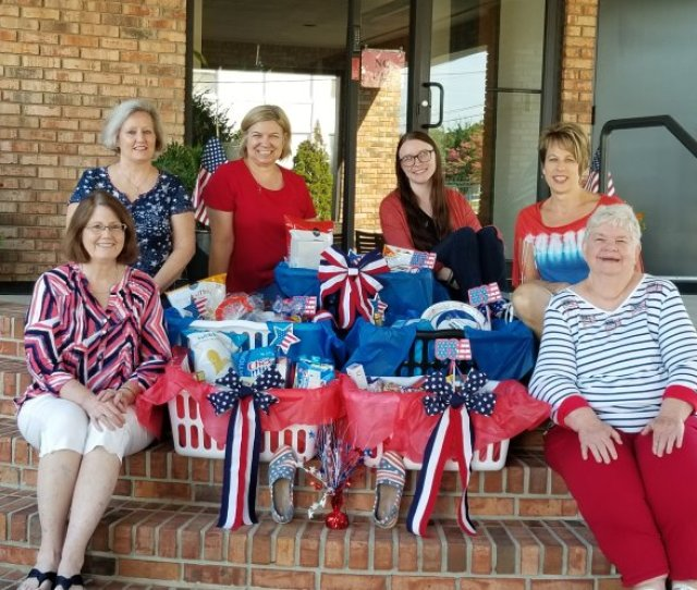 All Of Operations At Mccullough Associates Contributed Items To Stock The Pantry At Our Local Fire Station This Was Out Companys Summer Community