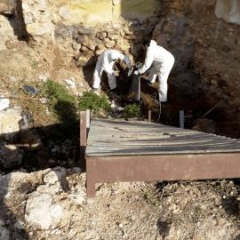 Continúan los trabajos de limpieza y acondicionamiento del Cerro del Molinete