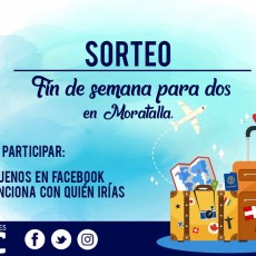 Juventudes MC publica las bases para el sorteo de un fin de semana para dos personas en un alojamiento rural de Moratalla