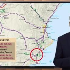 Con tres años y medio de retraso, Arroyo reclama el AVE a Cartagena sin soterrar y sin descontaminar