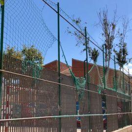 MC Cartagena denuncia el lamentable estado de mantenimiento de las pistas deportivas de Ciudad Jardín