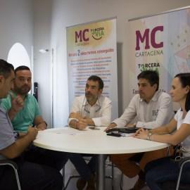 MC y HOSTECAR comparten objetivos y proyectos en materia de turismo para paliar la dinámica regresiva de Castejón