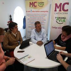 MC transmite la importancia de combinar regeneración urbana e inclusión social en el programa de Intervención Comunitaria (ICI)