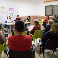 El campo de fútbol, el Huerto de Cándido y la Fundación Tomás Ferro, ejemplos del compromiso de MC con el avance de la diputación de La Palma