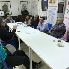 Vecinos y MC repasan las mejoras promovidas en Torreciega y San Ginés y trabajan en las prioridades de futuro
