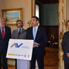 Una vez más, al descubierto las mentiras de PP y PSOE sobre el AVE en Cartagena
