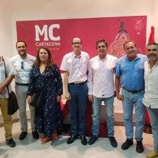 MC trabaja con los cronistas oficiales en propuestas para la implicación de éstos en la vida cultural y social de Cartagena