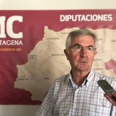 MC reclama más atención para los barrios y diputaciones de Cartagena a través de quince iniciativas elevadas al Pleno