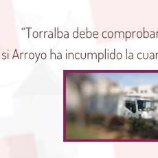 MC denuncia que jardineros de la Entidad de Conservación del Polígono Santa Ana desempeñaron trabajos en casa de la vicealcaldesa, Noelia Arroyo, el pasado 8 de septiembre