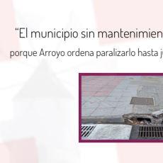 """Cartagena se queda sin mantenimiento por la estrategia """"cuanto peor, mejor"""" del PP"""