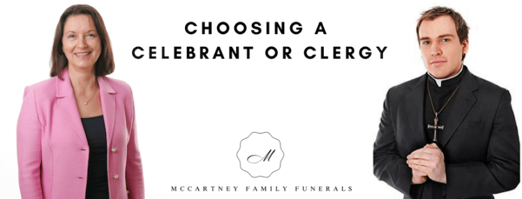 Celebrant or clergy