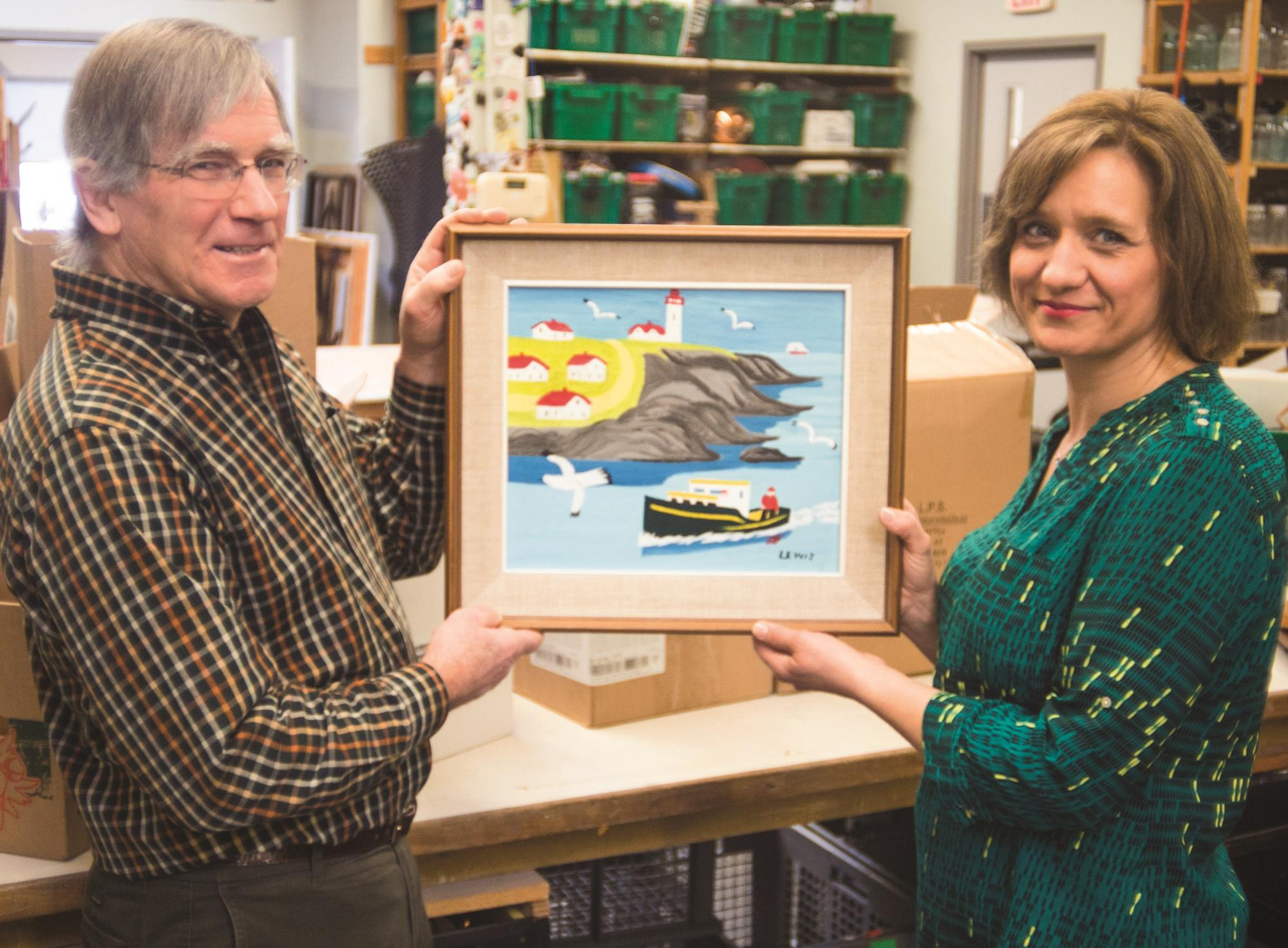 Lost Work Of Canadian Painter Turns Up In MCC Thrift Shop