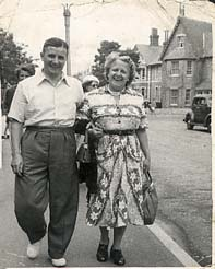 Stan and Pansy in their later years. Date and location unknown.