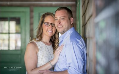 Jessica and Nick's Indian Ladder Farms Engagement