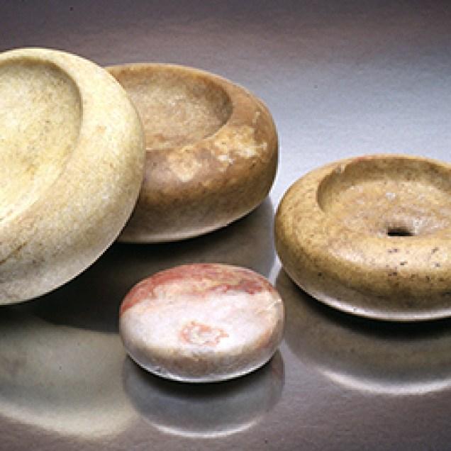 """Chunkey"" stones"