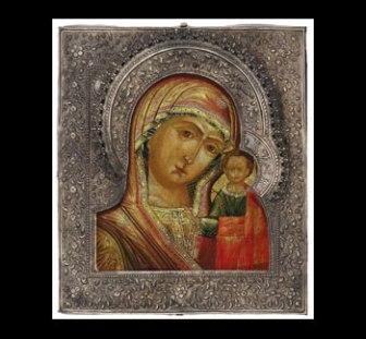 Kazan Mother of God, ca. 1840