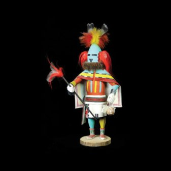 Hopi Kachina Doll, Height: 20 in.