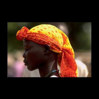 A Young Dinka Woman (Rumbeck, 2003)