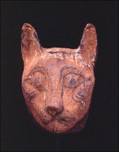 Mask From a Cat Mummy