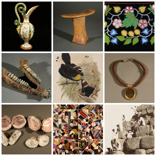 """Objects from the McClung Museum's permanent collections featured in """"Drawn from the McClung Museum"""""""
