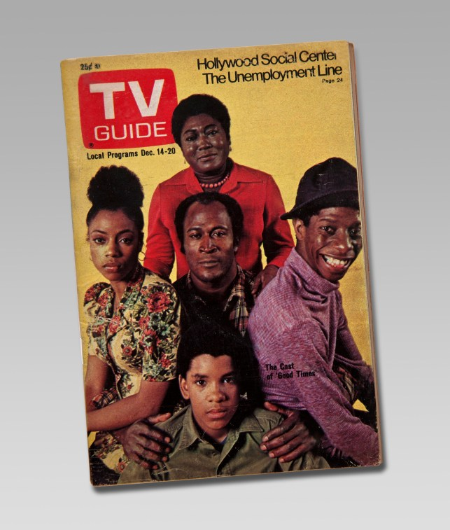 TV Guide Good Times cast
