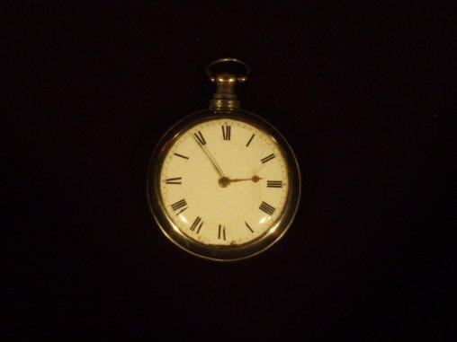 Pocket watch, 1793, silver and gold, gift of Sue Matt Meriwether Hotchkiss, 1960.8.1.