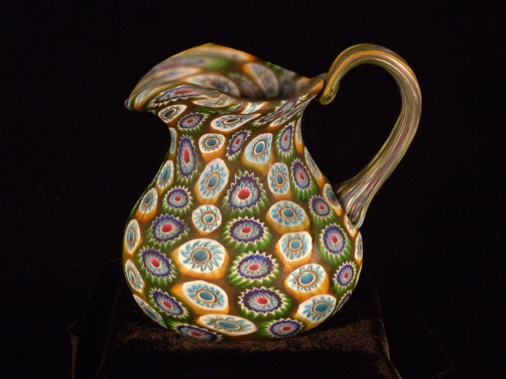 c. 1838, made in Murano, Venice, Italy, gift of Laura Moss, 1936.4.748.