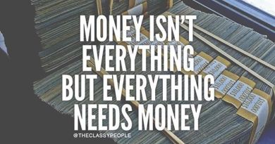 money everything