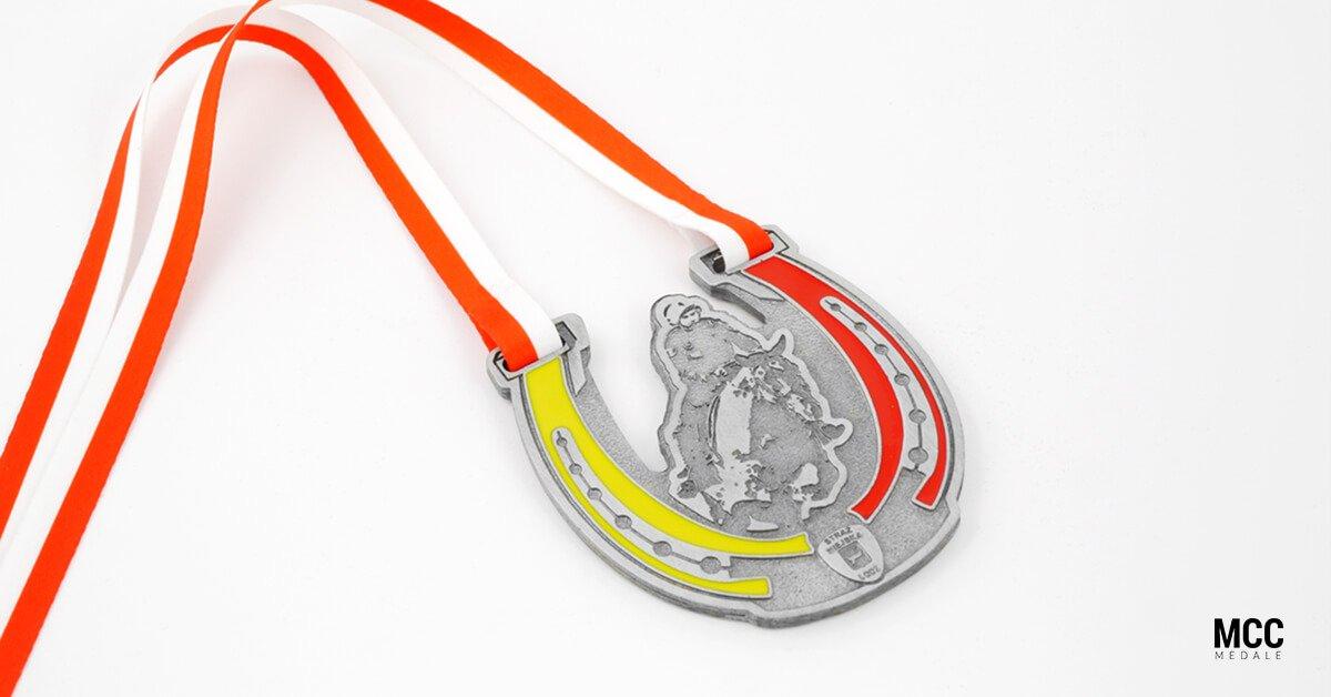 Medale odlewane na Międzynarodowy Turniej Mundurowych Formacji Konnych