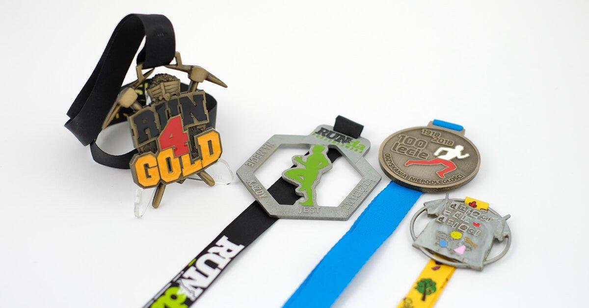 Medale biegowe na zamówienie wyprodukowane przez firmę MCC Medale