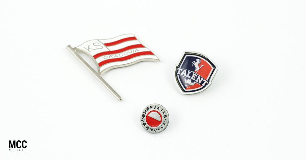Przypinki klubowe - gadżety dla klubów sportowych