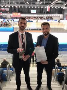 Podpisanie umowy pomiędzy MCC Medale i PZŁS
