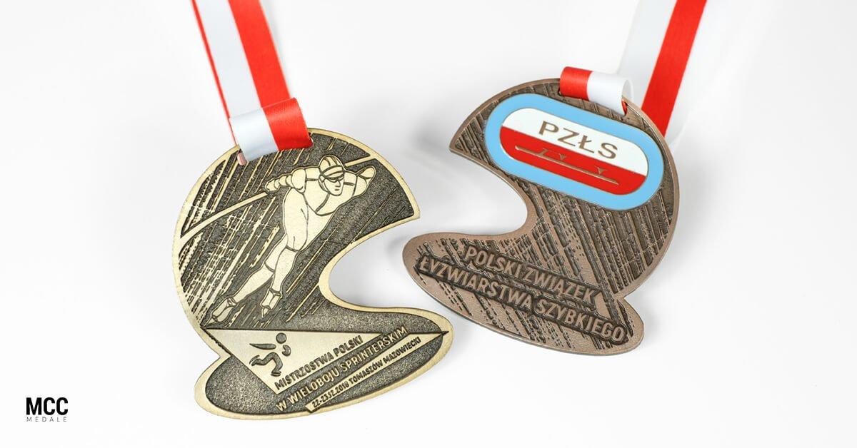 Medale Polskiego Związku Łyżwiarstwa Szybkiego
