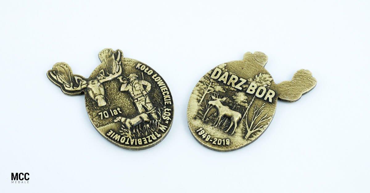 Medale dla Koła Łowieckiego Łoś