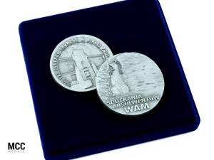 Medale pamiątkowe - przykłady