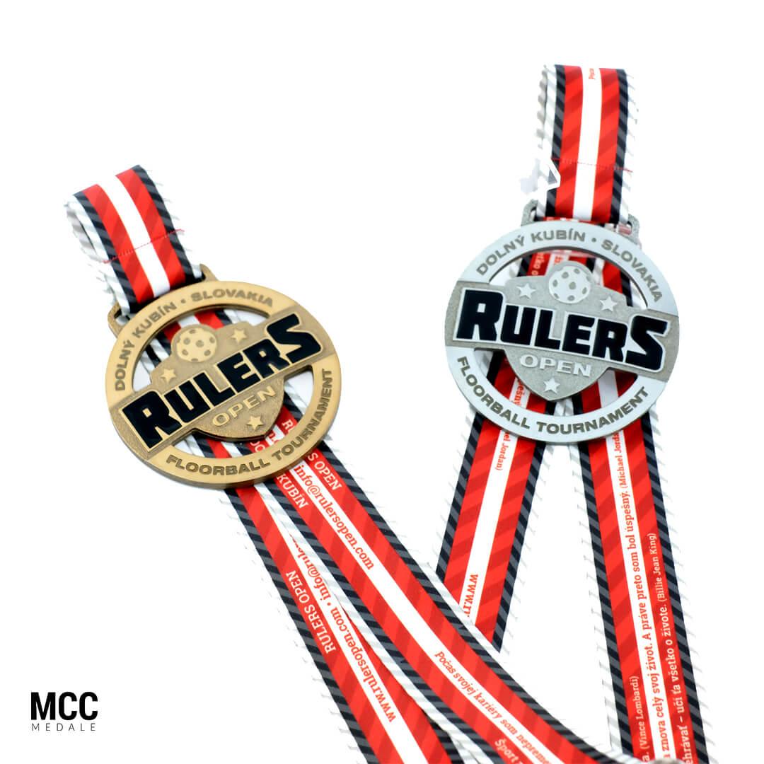 Odlewane medale sportowe na zawody unihokeja