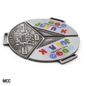 Zestaw medali na zawody dla dzieci