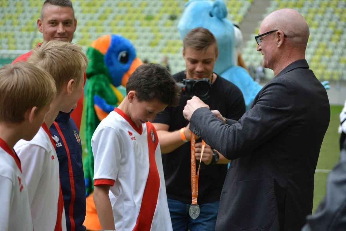 Medale na turniej piłkarski